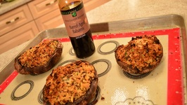 How To Bake Napa Valley Stuffed Portabello Mushrooms With Balsamic