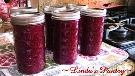 Canning Raspberry Lemonade Jam