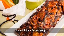 90 Second Grilled Buffalo Wings