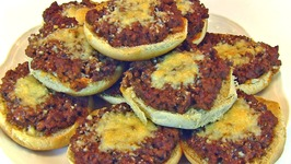 Betty's Party Pizza Buns -- Super Bowl