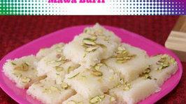 Coconut Mawa Burfi - Dessert Week Special