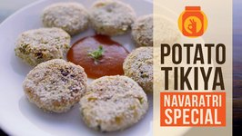 DIY  Aloo Patties  Potato Tikiya  Navratri Special