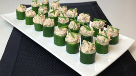 Brittany Allyn - Savor the Flavors - Salmon Cucumber Canapés