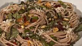 Cranberry Basil and Pinenut Pasta