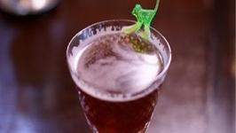 Banana Cocktail-Smoking Monkey-Raising The Bar With Jamie Boudreau