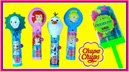 Disney Princess Chupa Chups Lolli Pop Ups Candy - Ariel, Cinderella, Frozen