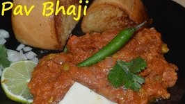 Authentic Bombay Pav Bhaji -Indian Popular Street Food Recipe Simplified