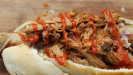 Pulled Pork Dog - English Grill and BBQ Recipe