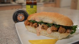 How To Cook Napa Jack's Deep Fried Cajun Clam Po' Boy Sandwiches