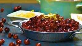Simple Cranberry Orange Relish