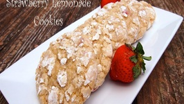 How to Make Strawberry Lemonade Cookies
