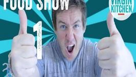 MVK Food Show 1-Eating Stinging Nettles, Welsh Cakes, Go Pro Stir Fry Recipe