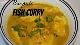Bengali Fish Curry or Quick Macher Jhaal