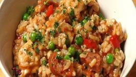 Easy Chicken And Chorizo Risotto