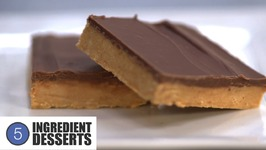 Chocolate Peanut Butter Slice - 5 Ingredient Desserts