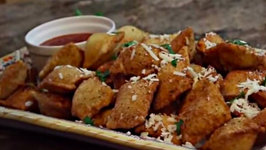 Delicious Appetizer Fried Homemade Ravioli