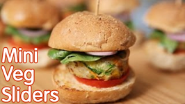 Veg Burger  Mini Veg Sliders  Tasty Snack Recipe by Ruchi's Kitchen