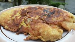 Turkey Pancake - Turkey Schnitzel