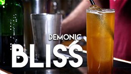The Demonic Bliss Cocktail -Fireball And Tequila?
