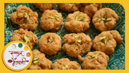 Balushahi - Easy To Make Indian Sweet - Recipe By Archana In Marathi - Badusha