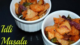 Idli Masala Punjabi Style Tadka