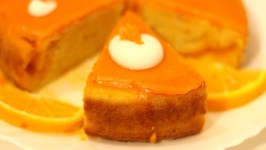 Orange Cake How to make Orange Cake with Orange Glaze