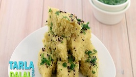 Soya Khaman Dhokla (Protein and Iron Rich Recipe)