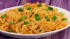 Quick Chilli Garlic Noodles