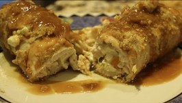 CHICKEN/CHEESY CHICKEN ROLL UPS