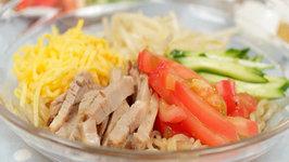 How to Make Low Calorie Hiyashi Chuka with Shirataki Noodles