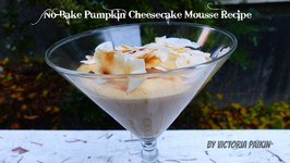 No Bake Pumpkin Cheesecake Mousse
