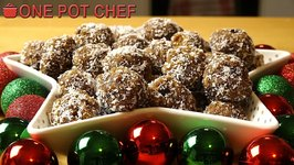 No Bake Gingerbread Truffle Balls