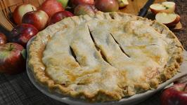 Easy Microwaved Apple Pie