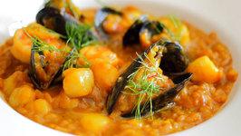 Creamy Saffron Seafood Risotto