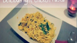 How To Make Healthy Delicious Chicken Pasta With Veggies