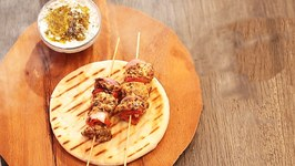 Souvlaki With Tzatziki Dip  Easy & Tasty Recipe