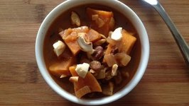 Sweet Potato Soup Recipe  Warm Fall Soup Ideas  Vegan