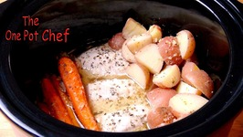One Pot Slow Cooked Chicken Dinner