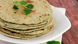 Spicy Phudina Khakhra (Diabetic and Low Calorie Snack)