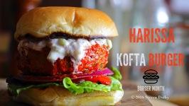Harissa Lamb Kofta Burger