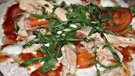 Grilled Chicken Pizza Adobo Style - English Grill and BBQ Recipe