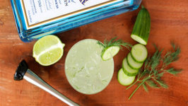 Cocktail - Cucumber Dill Gin Collins