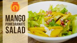 Mango Pomegranate Salad  Healthy Salad Recipe