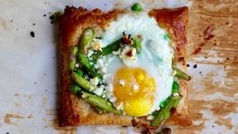Breakfast Recipe: Asparagus, Pea and Egg Tart