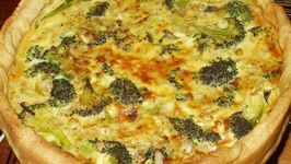 Chicken Broccoli Quiche