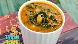 Mixed Dal with Spinach and Kabuli Chana