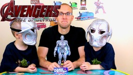 Avengers 2 Age of Ultron - Energy Crystal Candy - Kids Candy Review with Eli and Liam