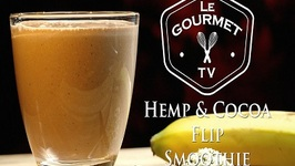 Hemp & Cocoa Flip Smoothie Recipe