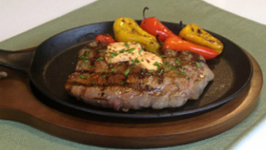 Brittany Allyn - Savor the Flavors - Grilled Chipotle New York Strip