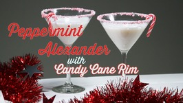 Peppermint Alexander Cocktail